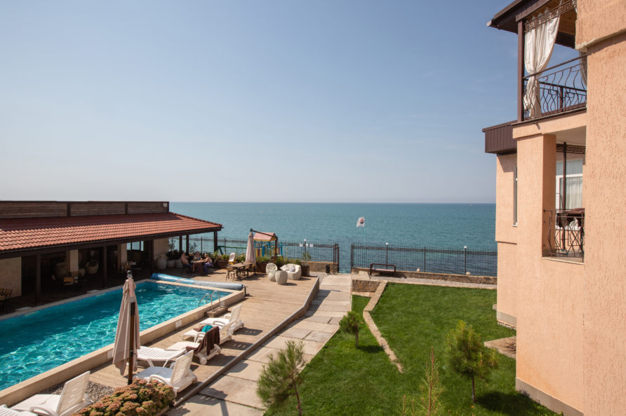 Отель Ravenna Mare, территория